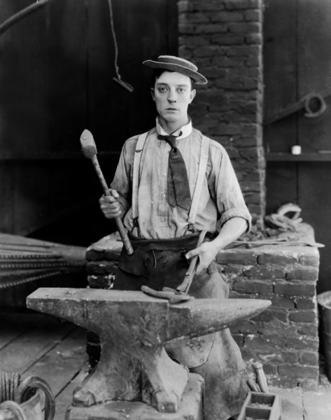 Buster Keaton, BLACKSMITH, THE, short, First National, 1922, **I.V. - Image 20676_0001