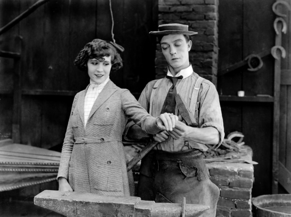 Buster Keaton, BLACKSMITH, THE, short, First National, 1922, **I.V. - Image 20676_0002