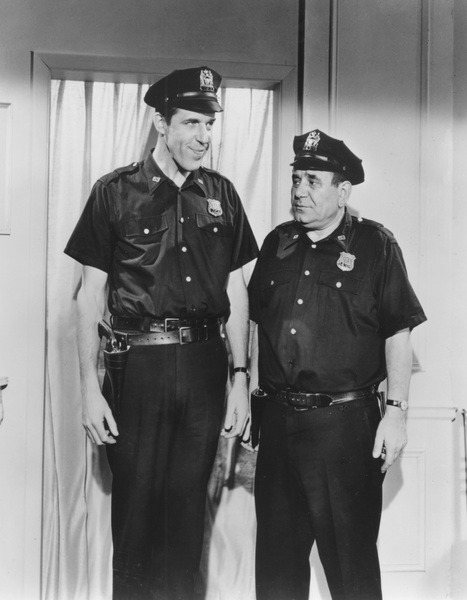 """Car 54, Where Are You?""Fred Gwynne and Joe Rosscirca 1961 - Image 20790_0002"