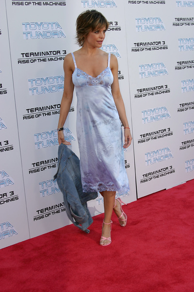 """Terminator 3: Rise of the Machines"" Premiere 6/30/03Lisa Rinna © 2003 Sam Kweskin - Image 21316_0022"