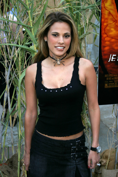"""Jeepers Creepers 2"" Premiere 8-25-03Bonnie-Jill LaflinPhoto By Sam Kweskin - Image 21434_0002"