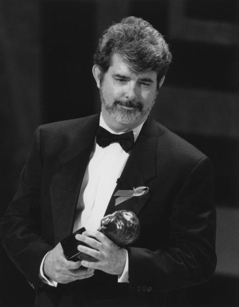 """Academy Awards: 64th Annual""George Lucas1992**I.V. - Image 21465_0001"
