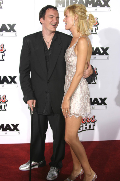 """Kill Bill Vol. 1"" Premiere09/29/03Quentin Tarantino & Uma Thurman  Graumans Chinese Theater Hollywood, CAMPTV - Image 21590_0136"