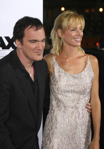 """Kill Bill Vol. 1"" Premiere09/29/03Quentin Tarantino & Uma Thurman  Graumans Chinese Theater Hollywood, CAMPTV - Image 21590_0137"