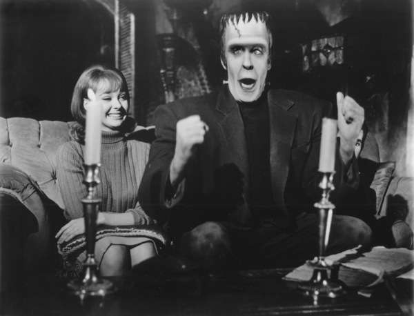 """""""Munster, Go Home""""Debbie Watson, Fred Gwynne1966** Part of the Kevin Burns Collection - Image 21707_0001"""