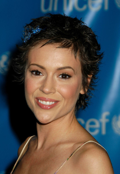 """UNICEF Goodwill Gala: 50 Years of Celebrity Advocacy"" 12-03-03Alyssa MilanoMPTV  - Image 21709_0004"