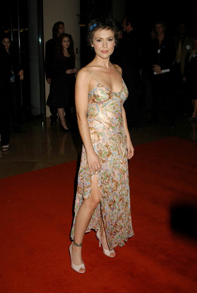 """UNICEF Goodwill Gala: 50 Years of Celebrity Advocacy"" 12-03-03Alyssa MilanoMPTV  - Image 21709_0005"