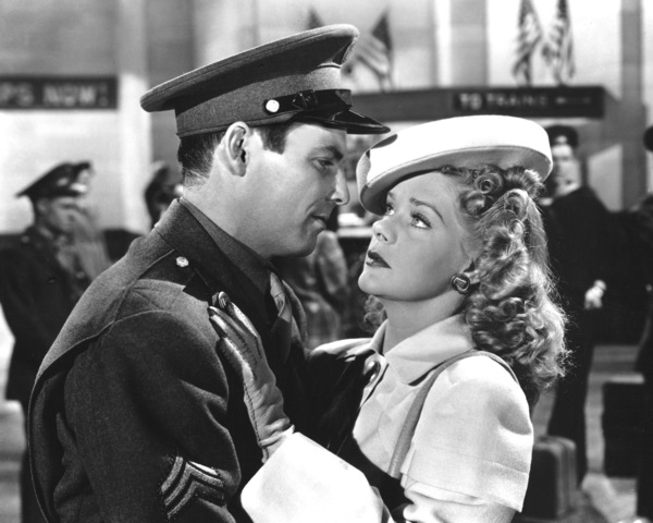 """""""Gangs All Here""""Alice Faye & Dave Willock1943 20th Cent.**I.V. - Image 21798_0007"""