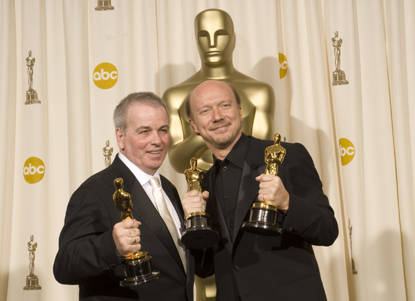 The 78th Annual Academy Awards Press RoomRobert Moresco Paul Haggis03
