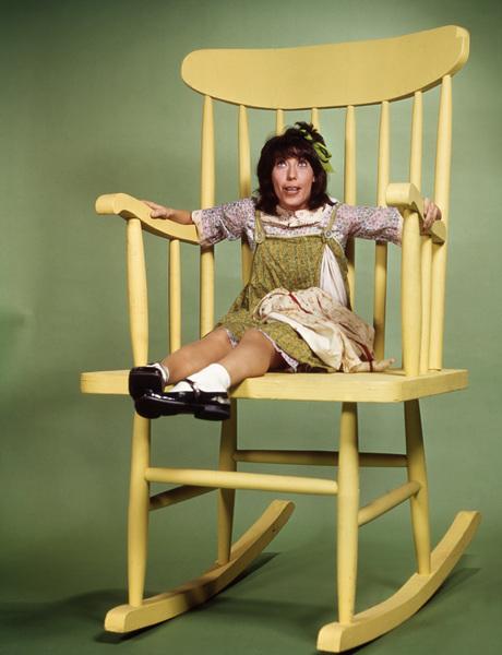 "Lily Tomlin as ""Edith Ann""circa early 1970s** I.V. - Image 22727_1021"