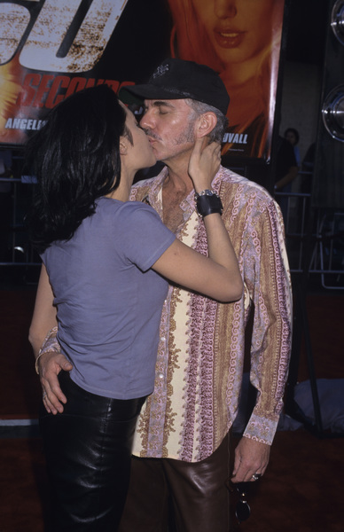 "Angelina Jolie and Billy Bob Thornton at the premiere of ""Gone in Sixty Seconds""2000© 2000 Gary Lewis - Image 22776_0023"