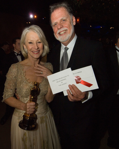 """Academy Awards - 79th Annual"" (Governors Ball)Academy Award winner Helen Mirren, husband Taylor Hackford2-25-07Photo by Greg Harbaugh © 2007 A.M.P.A.S. - Image 22938_0124"