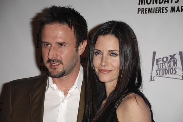 """The Riches"" (Premiere)David Arquette, Courteney Cox Arquette 03-10-2007 / Zanuck Theatre / Los Angeles, CA / FX Network / Photo by Andrew Howick - Image 22955_0046"