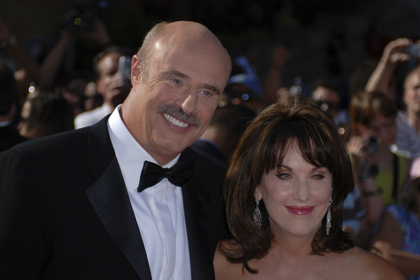 """""""The 34th Annual Daytime Emmy Awards""""Dr. Phil McGraw with wife Robin06-15-2007 / Kodak Theatre / Hollywood, CA / Photo by Andrew Howick - Image 23100_0003"""