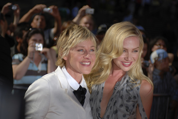 """""""The 34th Annual Daytime Emmy Awards""""Ellen DeGeneres, Portia de Rossi06-15-2007 / Kodak Theatre / Hollywood, CA / Photo by Andrew Howick - Image 23100_0009"""