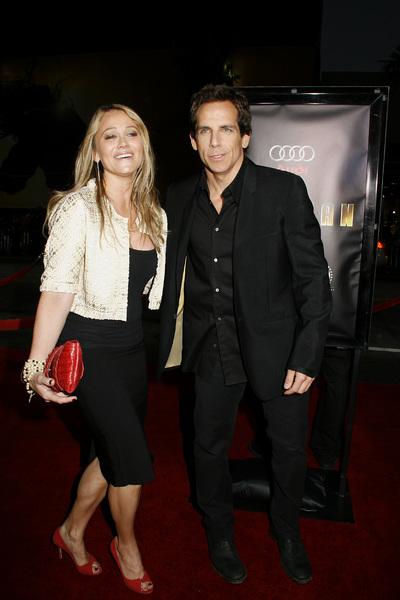 """""""Iron Man"""" PremiereChristine Taylor, Ben Stiller4-30-2008 / Grauman"""