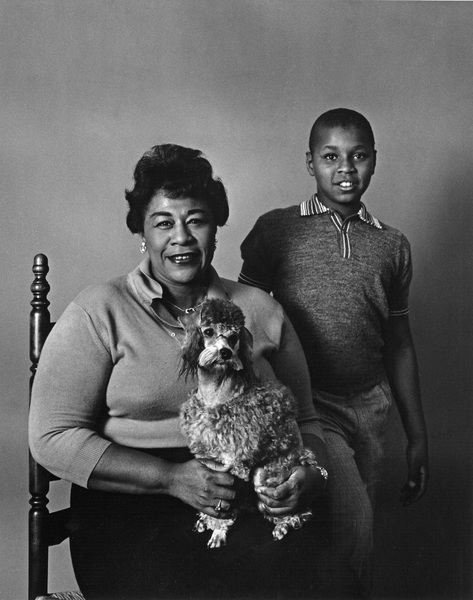 Ella Fitzgerald and son Ray Brown Jr.1958 © 1978 Ken Whitmore - Image 2353_0015