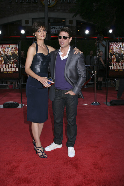 """Tropic Thunder"" PremiereKatie Holmes, Tom Cruise 8-11-2008 / Mann Village Theater / Los Angeles, CA / Dreamworks / Photo by Max Rodeo - Image 23587_0002"