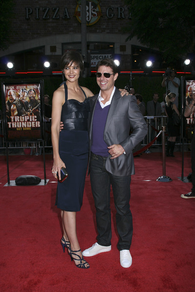 """Tropic Thunder"" PremiereKatie Holmes, Tom Cruise 8-11-2008 / Mann Village Theater / Los Angeles, CA / Dreamworks / Photo by Max Rodeo - Image 23587_0003"