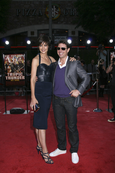 """Tropic Thunder"" PremiereKatie Holmes, Tom Cruise 8-11-2008 / Mann Village Theater / Los Angeles, CA / Dreamworks / Photo by Max Rodeo - Image 23587_0004"