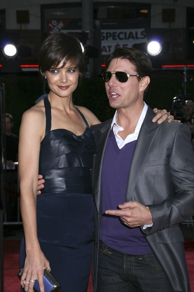 """Tropic Thunder"" PremiereKatie Holmes, Tom Cruise 8-11-2008 / Mann Village Theater / Los Angeles, CA / Dreamworks / Photo by Max Rodeo - Image 23587_0005"