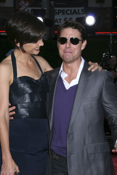 """Tropic Thunder"" PremiereKatie Holmes, Tom Cruise 8-11-2008 / Mann Village Theater / Los Angeles, CA / Dreamworks / Photo by Max Rodeo - Image 23587_0007"