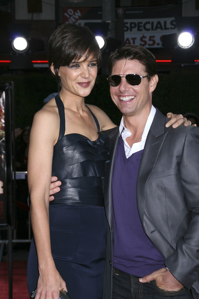 """Tropic Thunder"" PremiereKatie Holmes, Tom Cruise 8-11-2008 / Mann Village Theater / Los Angeles, CA / Dreamworks / Photo by Max Rodeo - Image 23587_0012"