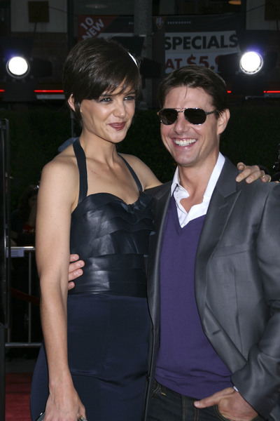 """""""Tropic Thunder"""" PremiereKatie Holmes, Tom Cruise 8-11-2008 / Mann Village Theater / Los Angeles, CA / Dreamworks / Photo by Max Rodeo - Image 23587_0013"""