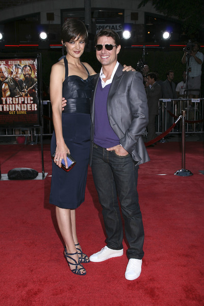 """Tropic Thunder"" PremiereKatie Holmes, Tom Cruise 8-11-2008 / Mann Village Theater / Los Angeles, CA / Dreamworks / Photo by Max Rodeo - Image 23587_0017"
