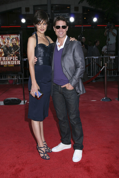 """Tropic Thunder"" PremiereKatie Holmes, Tom Cruise 8-11-2008 / Mann Village Theater / Los Angeles, CA / Dreamworks / Photo by Max Rodeo - Image 23587_0018"