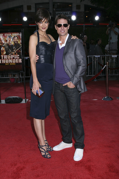 """""""Tropic Thunder"""" PremiereKatie Holmes, Tom Cruise 8-11-2008 / Mann Village Theater / Los Angeles, CA / Dreamworks / Photo by Max Rodeo - Image 23587_0019"""