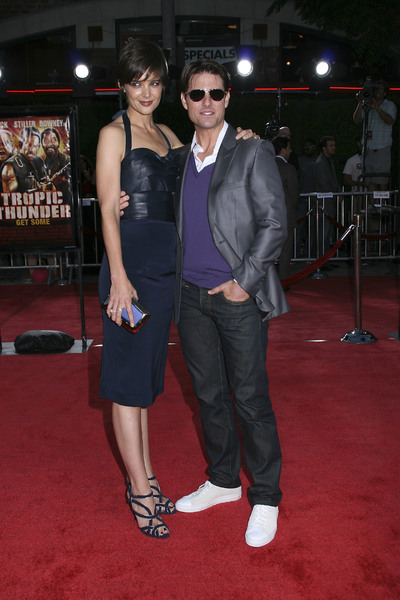 """""""Tropic Thunder"""" PremiereKatie Holmes, Tom Cruise 8-11-2008 / Mann Village Theater / Los Angeles, CA / Dreamworks / Photo by Max Rodeo - Image 23587_0020"""