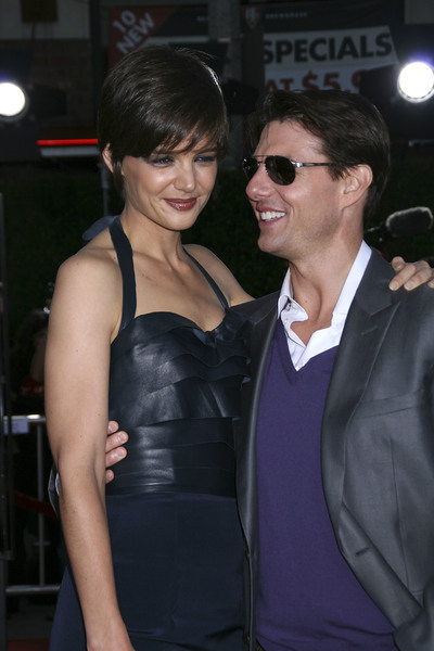"""""""Tropic Thunder"""" PremiereKatie Holmes, Tom Cruise 8-11-2008 / Mann Village Theater / Los Angeles, CA / Dreamworks / Photo by Max Rodeo - Image 23587_0026"""