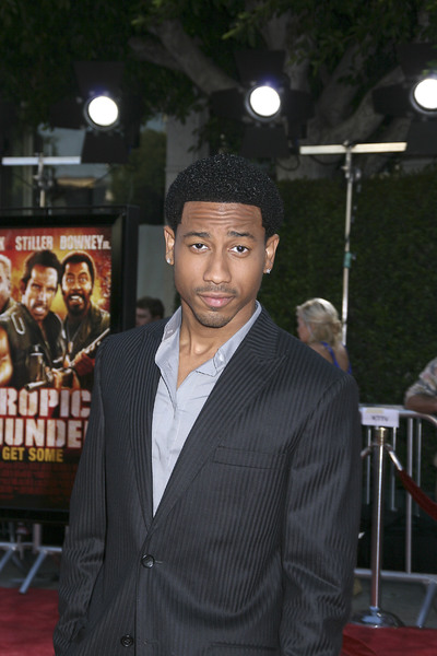 """""""Tropic Thunder"""" Premiere Brandon T. Jackson 8-11-2008 / Mann Village Theater / Los Angeles, CA / Dreamworks / Photo by Max Rodeo - Image 23587_0031"""