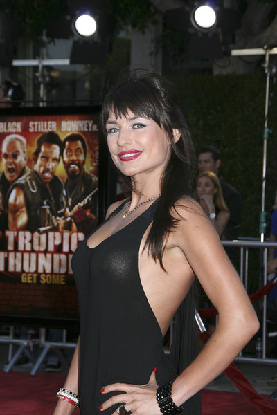 """""""Tropic Thunder"""" Premiere Marcela Mar 8-11-2008 / Mann Village Theater / Los Angeles, CA / Dreamworks / Photo by Max Rodeo - Image 23587_0033"""