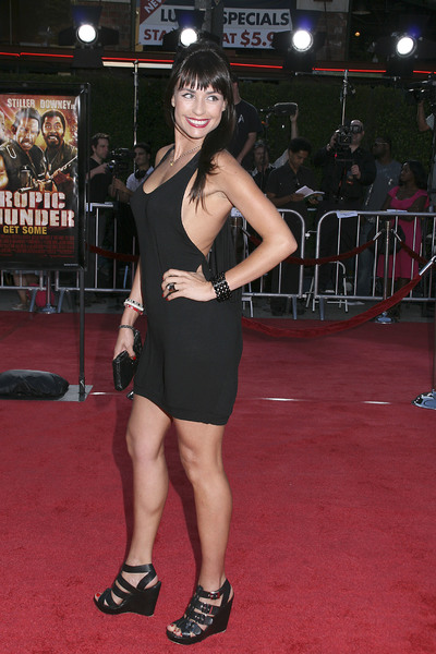 """Tropic Thunder"" Premiere Marcela Mar 8-11-2008 / Mann Village Theater / Los Angeles, CA / Dreamworks / Photo by Max Rodeo - Image 23587_0034"