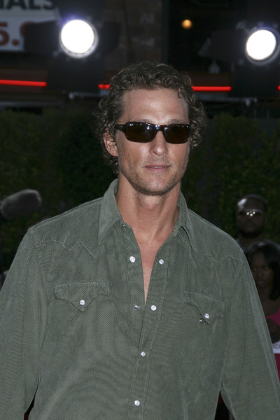 """""""Tropic Thunder"""" Premiere Matthew McConaughey 8-11-2008 / Mann Village Theater / Los Angeles, CA / Dreamworks / Photo by Max Rodeo - Image 23587_0059"""