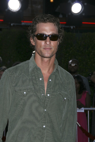 """""""Tropic Thunder"""" Premiere Matthew McConaughey 8-11-2008 / Mann Village Theater / Los Angeles, CA / Dreamworks / Photo by Max Rodeo - Image 23587_0060"""