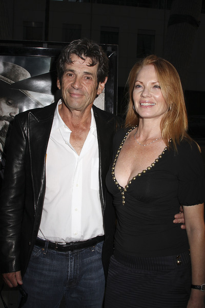 """""""Appaloosa"""" PremiereAlan Rosenberg, Marg Helgenberger 9-17-08 / The Academy Theatre / Beverly Hills, CA / New Line Cinema / Photo by Max Rodeo - Image 23611_0011"""