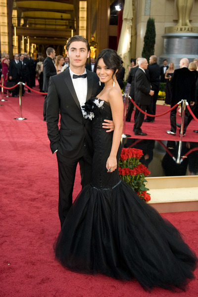 """The 81st Annual Academy Awards"" (Arrivals)Zac Efron, Vanessa Hudgens02-22-2009Photo by Jon Didier © 2009 A.M.P.A.S. - Image 23704_0138"
