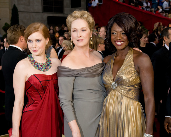 """The 81st Annual Academy Awards"" (Arrivals)Amy Adams, Meryl Streep, Viola Davis02-22-2009Photo by Jon Didier © 2009 A.M.P.A.S. - Image 23704_0159"