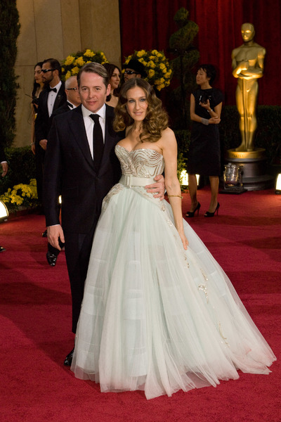 """The 81st Annual Academy Awards"" (Arrivals)Matthew Broderick, Sarah Jessica Parker02-22-2009Photo by Bryan Crowe © 2009 A.M.P.A.S. - Image 23704_0215"