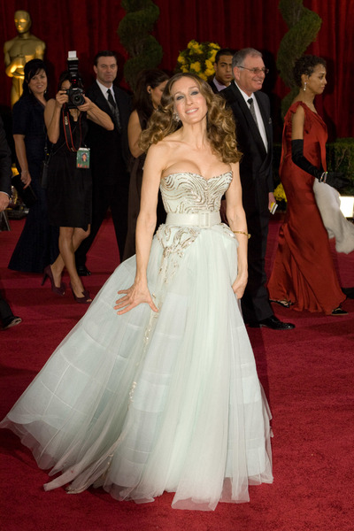 """""""The 81st Annual Academy Awards"""" (Arrivals)Sarah Jessica Parker02-22-2009Photo by Bryan Crowe © 2009 A.M.P.A.S. - Image 23704_0216"""