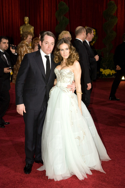 """The 81st Annual Academy Awards"" (Arrivals)Matthew Broderick, Sarah Jessica Parker02-22-2009Photo by Bryan Crowe © 2009 A.M.P.A.S. - Image 23704_0217"