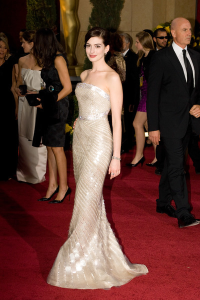"""The 81st Annual Academy Awards"" (Arrivals)Anne Hathaway02-22-2009Photo by Bryan Crowe © 2009 A.M.P.A.S. - Image 23704_0223"