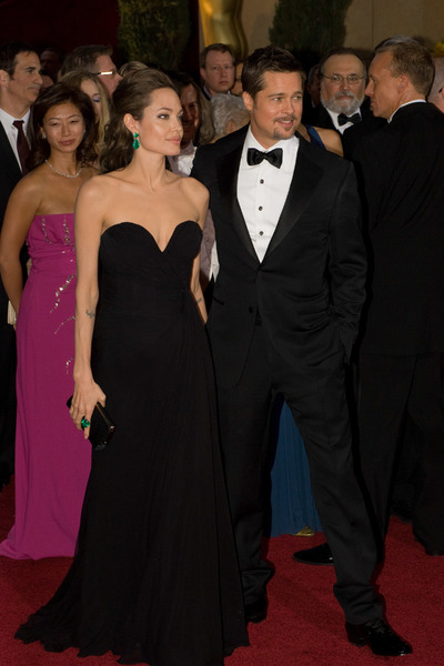 """The 81st Annual Academy Awards"" (Arrivals)Angelina Jolie, Brad Pitt02-22-2009Photo by Bryan Crowe © 2009 A.M.P.A.S. - Image 23704_0242"