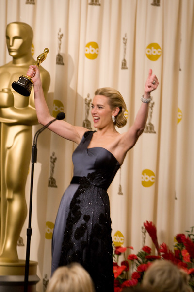 """""""The 81st Annual Academy Awards"""" (Press Room)Kate Winslet02-22-2009Photo by Richard Salyer © 2009 A.M.P.A.S. - Image 23704_0330"""