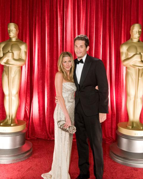"""The 81st Annual Academy Awards"" (Backstage)Jennifer Aniston, John Mayer02-22-2009Photo by Ivan Vejar © 2009 A.M.P.A.S. - Image 23704_0370"