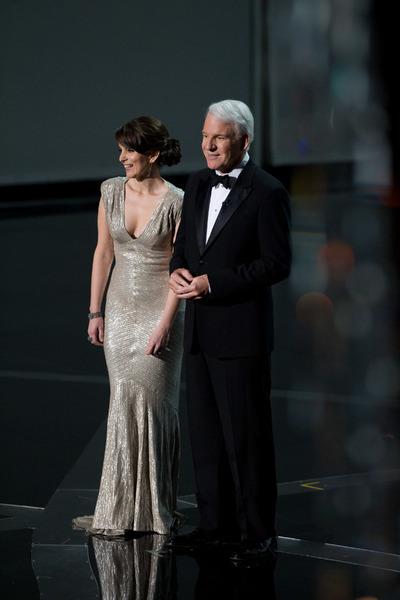"""The 81st Annual Academy Awards"" (Telecast)Tina Fey, Steve Martin02-22-2009Photo by Darren Decker © 2009 A.M.P.A.S. - Image 23704_0436"