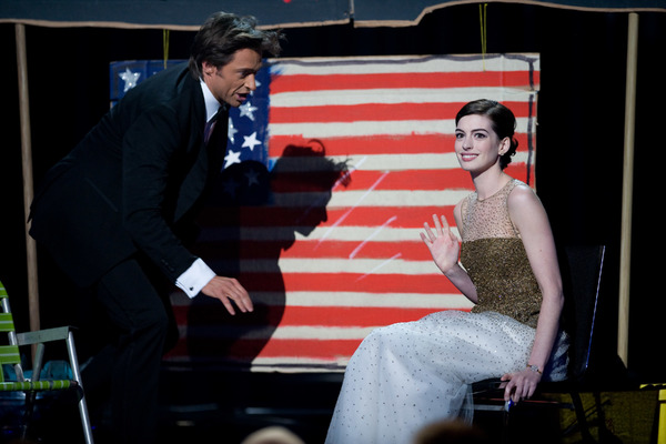 """""""The 81st Annual Academy Awards"""" (Telecast)Hugh Jackman, Anne Hathaway02-22-2009Photo by Michael Yada © 2009 A.M.P.A.S. - Image 23704_0448"""